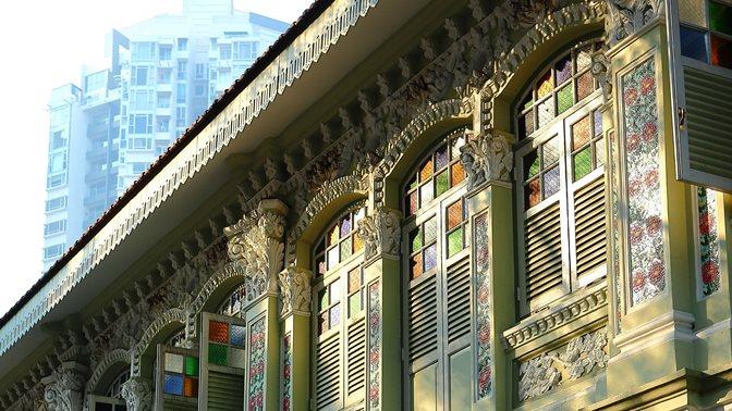 Keong Saik street side facade